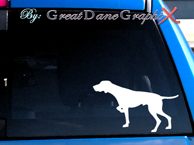 Pointer Vinyl Decal Sticker / Color Choice - HIGH QUALITY
