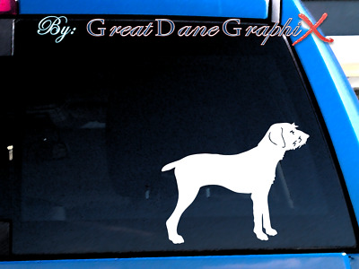 Pudelpointer Vinyl Decal Sticker / Color Choice - HIGH QUALITY
