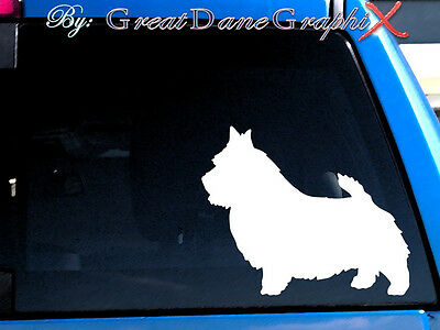 Norwich Terrier Vinyl Decal Sticker / Color Choice - HIGH QUALITY