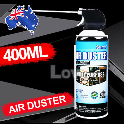 400ml Compressed Air Duster Cleaner Can Canned Laptop Keyboard Mouse Phones