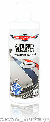 Bowden's Own Auto Body Cleanser Cleaner Mothers Meguiars Turtle Wax Show HSV FPV