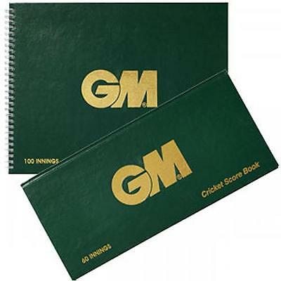 Gunn & Moore GM Accessories 100 Innings Scorebook Game Analysis