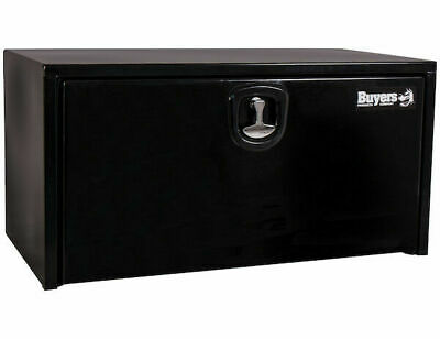 "Buyers Products 1732300, Black Steel Toolbox w/3 Pt Latch, 18"" H x 18"" D x 24"" W"