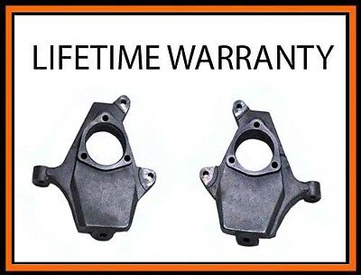- 06 Chevy Suburban & Avalanche 1500 Drop Lowering Spindles 1999 2006 2WD 4WD