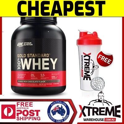Optimum Nutrition 100% Whey Rocky Road 5Lb - Gold Standard Protein Wpi Wpc ))