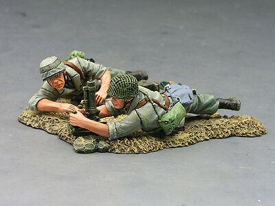 King and (&) Country FJ002-07 - FJ Mortar Team - Retired
