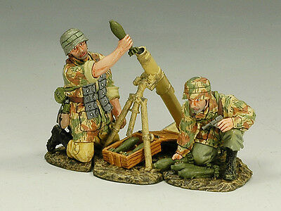 King and (&) Country FJ015 - FJ Mortar Team II - Retired
