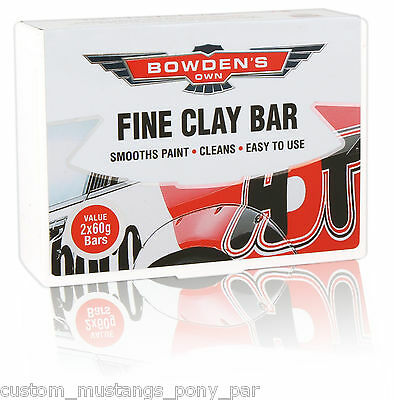 Bowden's Own Fine Clay Bar Cleaner Mothers Meguiars Turtle Wax HSV FPV Detail