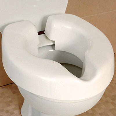 Raised Toilet Seat - Novelle Clip On Toilet Seat Raiser Disability Aids