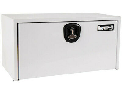 "Buyers Products 1732405, White Steel Toolbox w/3 Pt Latch, 18"" H x 18"" D x 36"" W"