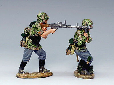 King and (&) Country WS113 - MG34 Gun Team - Retired