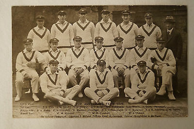 Vintage  Bolland Postcard - 1926 Australian Cricket Team.