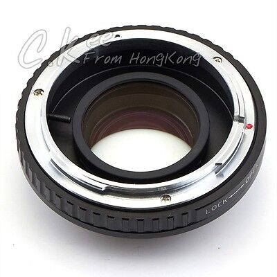 Optical Focal Reducer Speed Booster adapter Canon FD Lens to Micro 4/3 M4/3