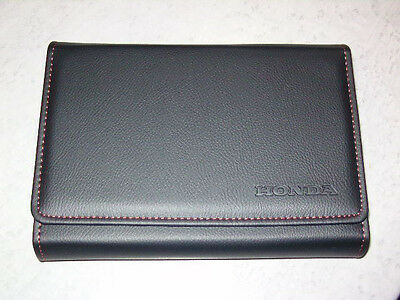 OEM HONDA BORDBUCHHÜLLE LEDER GLOVERBOX WALLET LEATHER Civic Accord Jazz CR-V