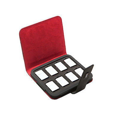 Zippo Collectors Case (Holds 8 Zippo Lighters) - FREE FLINTS & FREE P+P!