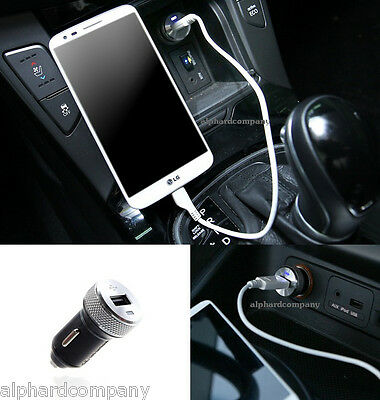 HYUNDAI KIA MOBIS OEM High Speed Car USB Port Charger for iPhone iPad Galaxy