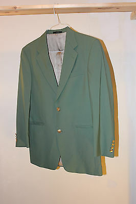 Green Sport Coat Jacket Saint Pactick's Day St. Patrick's Day 36s