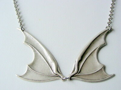 Claudia Collection Bat Wing 13 Necklace Dark Antique Finish Chain Warehouse 13