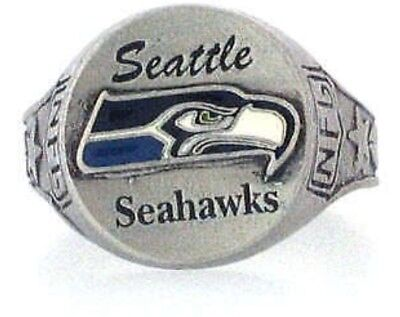 Goodies Bague NFL Seattle SEAHAWKS Taille 62 - 19.7mm