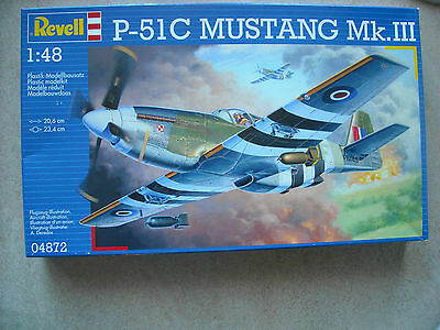 REVELL GERMANY 1/48 P-51C MUSTANG