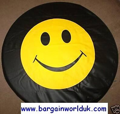 Smiley Face wheel cover rear spare tyre wheelcover all sizes new high quality
