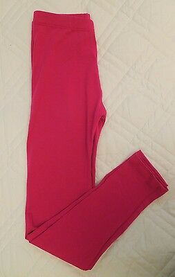 Dori Creations Child Lot of 8 Fuchsia Leggings Dance Pants Cotton Lycra Elastic