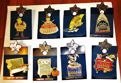 "Universal Studios Trading Pins ""calender Month"" Pins Limited Edition Pick One"