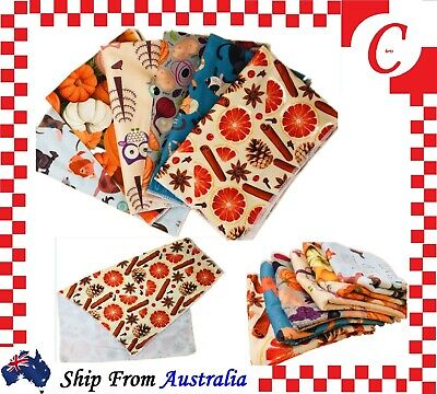 12PC Microfibre Kitchen Tea Towel Teatowels Dish Glass Cloths Towels Bulk New