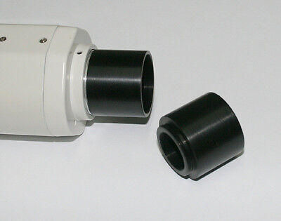 "ScopeStuff #C2B1 C-Mount to 1.25"" Barrel Adapter Telescope Astrophotography"