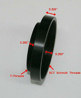 ScopeStuff #TALP - SCT Female to T-thread Male Very Low Profile Adapter