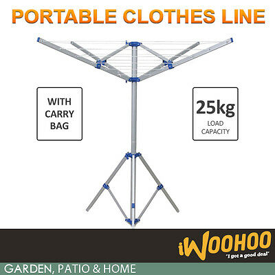 Portable Camping Clothesline - Foldable, Caravan & Camping Clothes Line