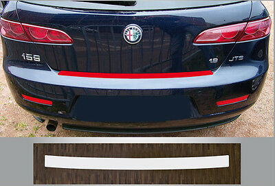Bumper Strip Protective Film Clear ALFA ROMEO 159 SW STATION WAGON BUILT FROM 06