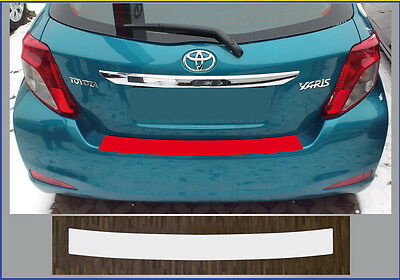 clear protective foil bumper protection transparent Toyota Yaris XP13, 2011-2014