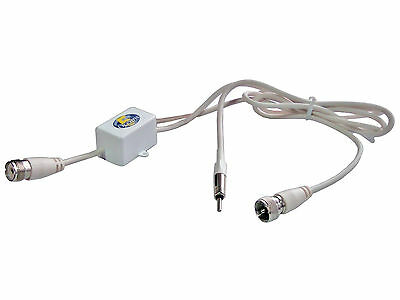Vhf/am/fm Broadcast Band Splitter Connects Radio To Vhf Antenna - Five Oceans