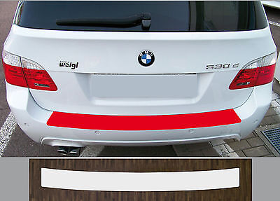 Bumper Strip Protective Film Clear BMW 5er Type E61 Touring Built 04-10