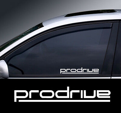 Prodrive Logo Window Decal Sticker Graphic *Colour Choice*