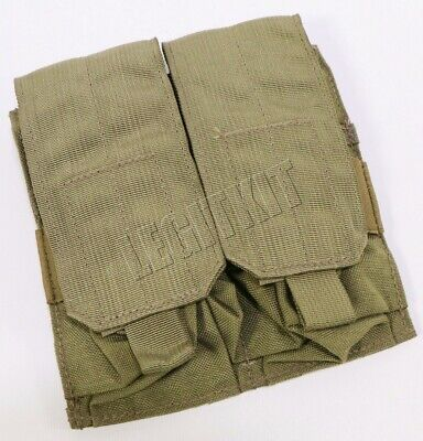NEW Eagle Industries MLCS Double M4 AR (2x2) Magazine Mag Pouch - MJK Khaki Tan