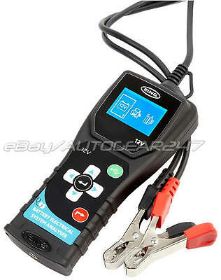 RBAG500 12v Graphiacl Battery Analyser Battery Electrical System Analyser