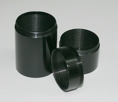 ScopeStuff #TTET-25 --T-Thread Extension Tube / Spacer Ring, M42x0.75, 25mm long