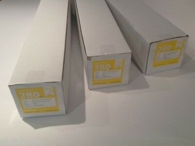 "Inkjet Canvas Rolls 13""- 60"" Poly 260GSM & 280GSM Matte or Gloss 18 or 30mtr"