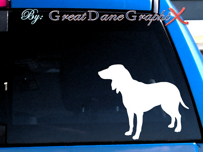 Saluki - Vinyl Decal Sticker / Color Choice - HIGH QUALITY