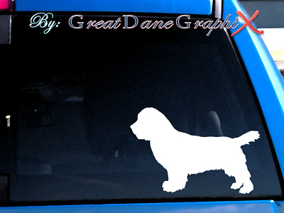 Sussex Spaniel Vinyl Decal Sticker / Color Choice - HIGH QUALITY