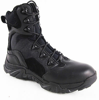Ywing Men's 566-1A Steel Toe Side Zip Security/Police Tactical Safety Boots