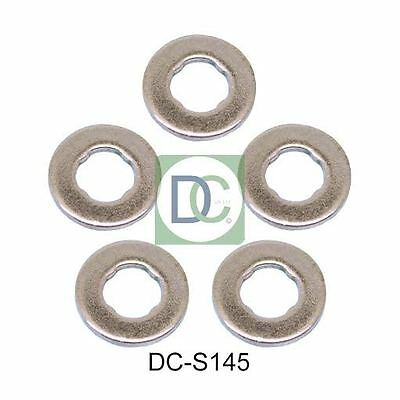 Volvo XC90 2.4 D5 Common Rail Diesel Fuel Injector Washers / Seals Pack of 5