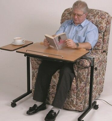Deluxe Daleside Over Bed or chair Table overbed adjustable mobility aid
