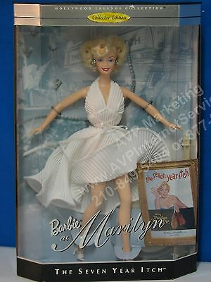 Barbie Marilyn Monroe Seven Year Itch Doll Mint in Box, NEW-Excellent Condition