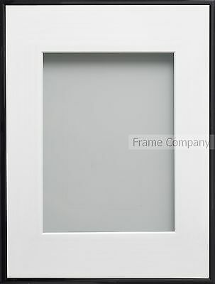 Frame Company Cranbrook Range Black or White Picture Photo Frames With Mount
