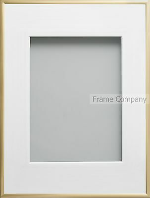 Frame Company Cranbrook Range Gold or Silver Picture Photo  Frames With Mount