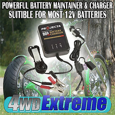 Battery Trickle Charger 12Volt 12V Motorbike Jet Ski Dirt Bike Harley Gsxr Ac150