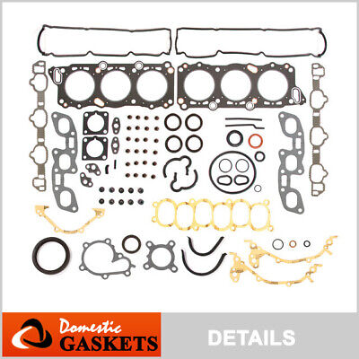 Fit 90-97 Nissan 300ZX Turbo Infiniti J30 3.0L Full Gasket Kit VG30DE VG30DETT